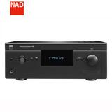 NAD T758V3 758三代AV功放机7.1.4全景声家庭影院大功率放大器